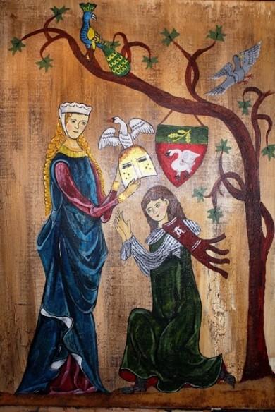 Mittelalter Gemälde